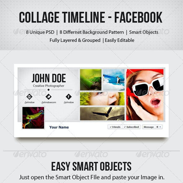 Collage Timeline - Facebook