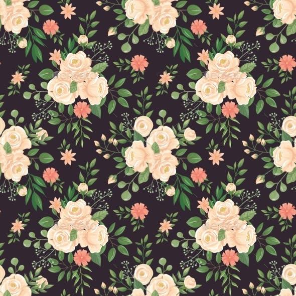 Rose Flowers Pattern