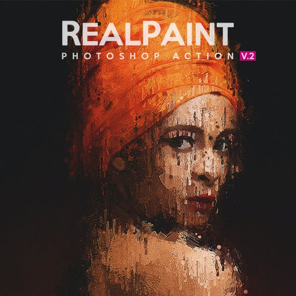 Real Paint V.2 - Photoshop Action