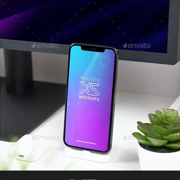 Realistic Phone XS Mockups