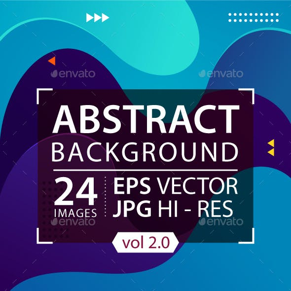 Colorful Fluid Background, Vector Graphic Element (Vol. 2)