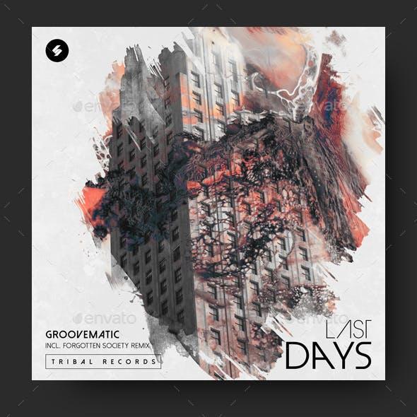 Last Days - Music Album Cover Artwork Template