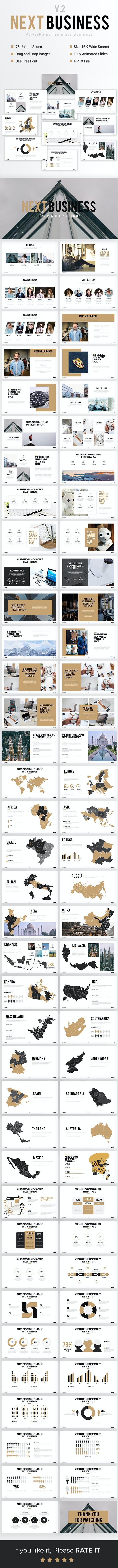 Next Business - Powerpoint Template Business - PowerPoint Templates Presentation Templates
