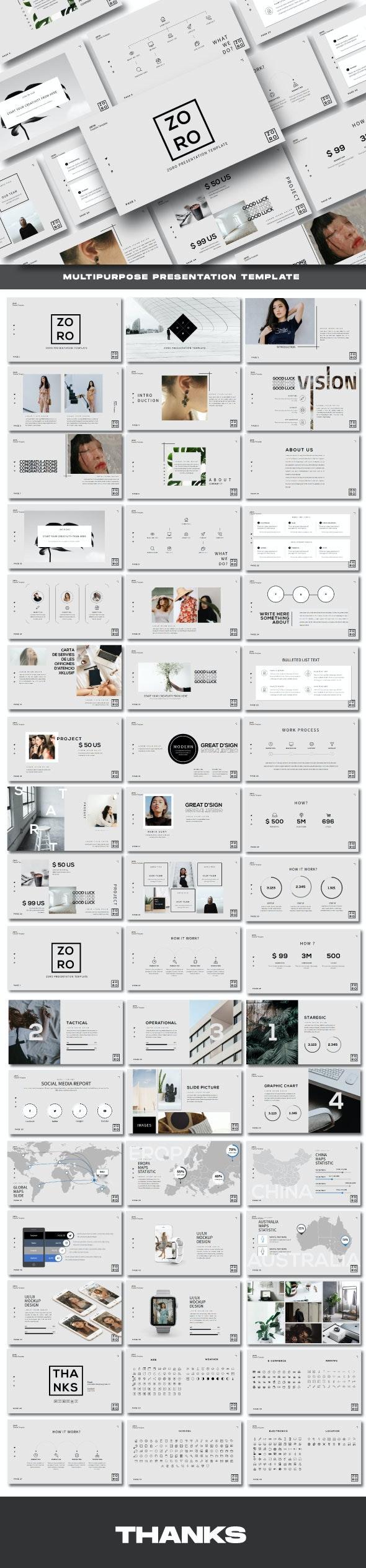 Zoro Business Powerpoint Template