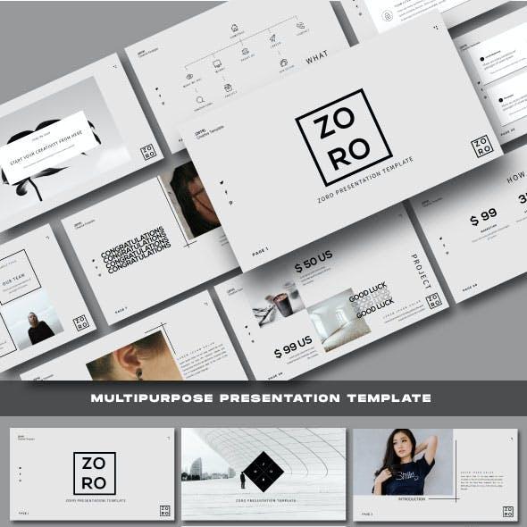 Zoro Business Keynote