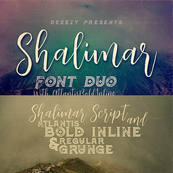 Shalimar Font Duo