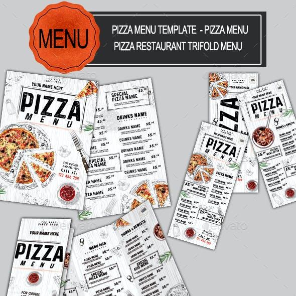 Pizza Food Menu Bundle