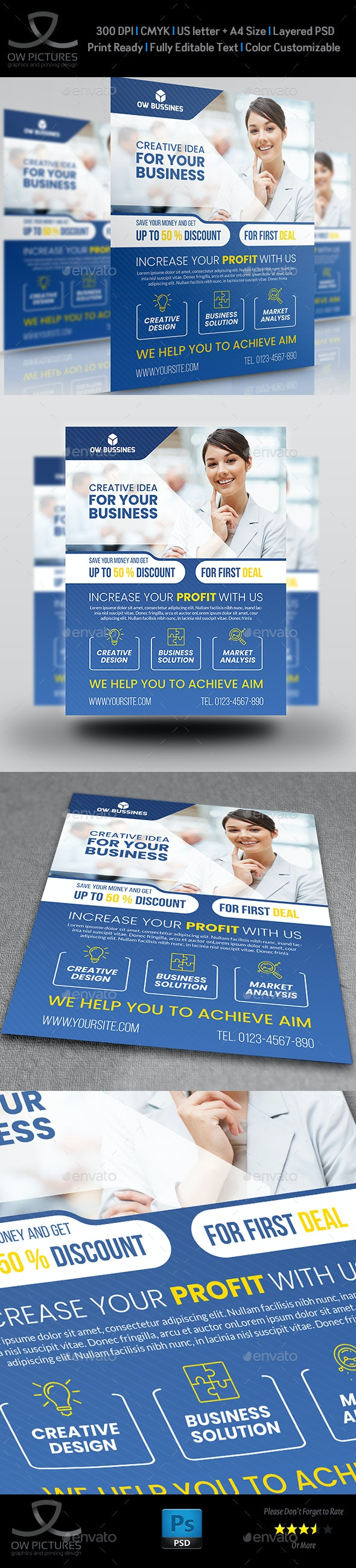 Corporate Business Flyer Vol.24 - Corporate Flyers