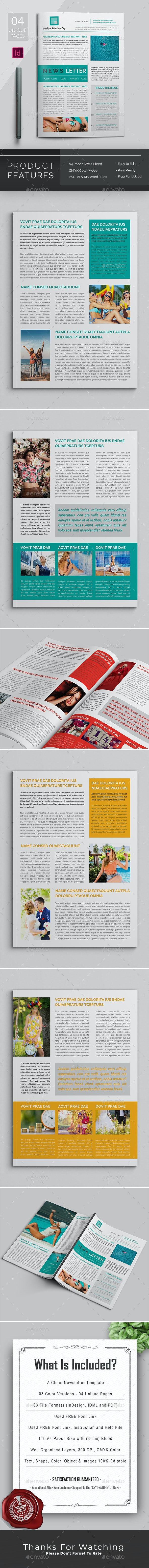Newsletter - Newsletters Print Templates