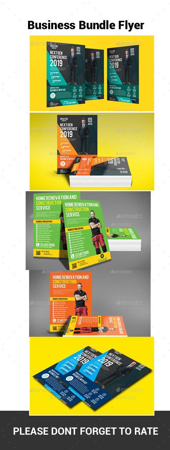Business Bundle Flyer - Flyers Print Templates