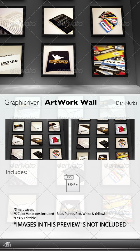 ArtWork Wall - Miscellaneous Displays