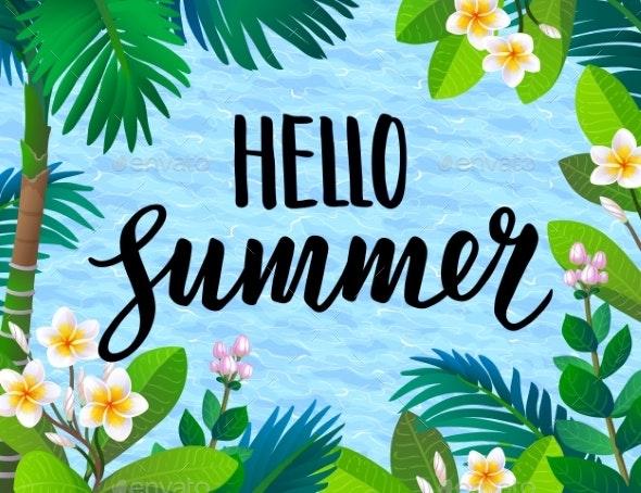 Summer Banner Template - Seasons Nature