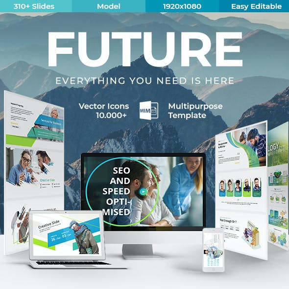Future Creative Premium Powerpoint Template