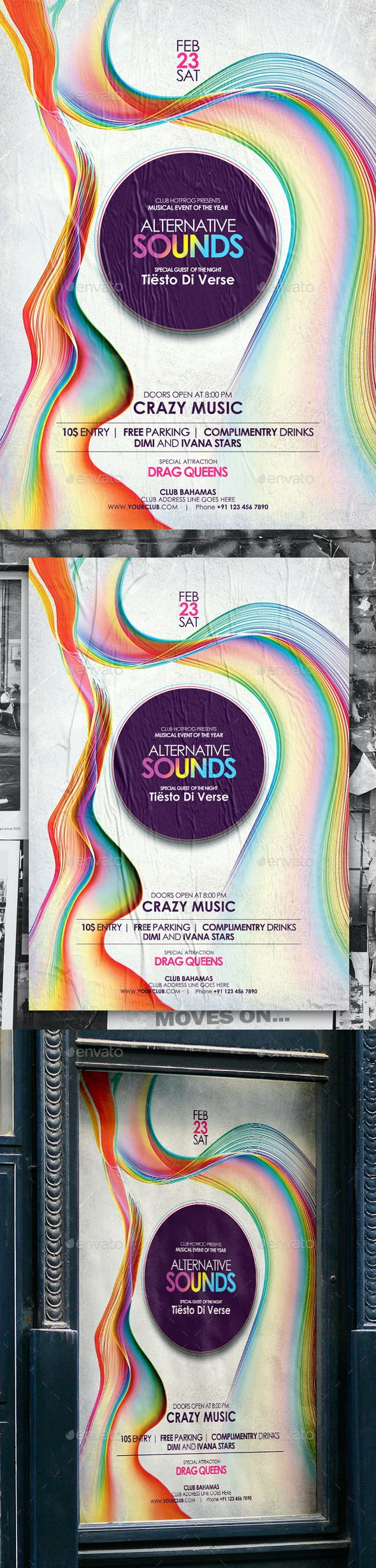 Music Poster - Events Flyers