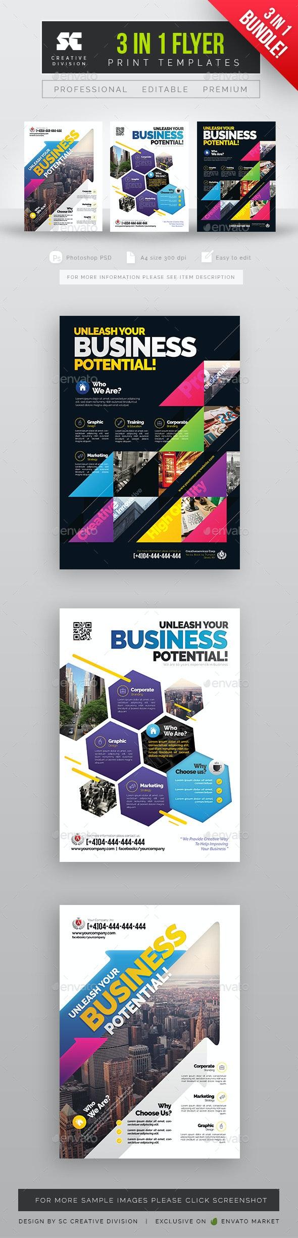 Corporate Business Bundle - Corporate Flyers