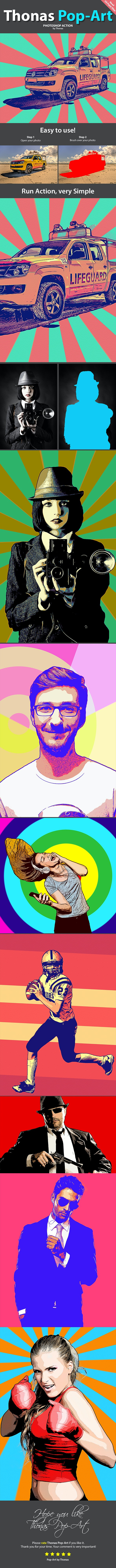 Thonas Pop-Art - Photo Effects Actions