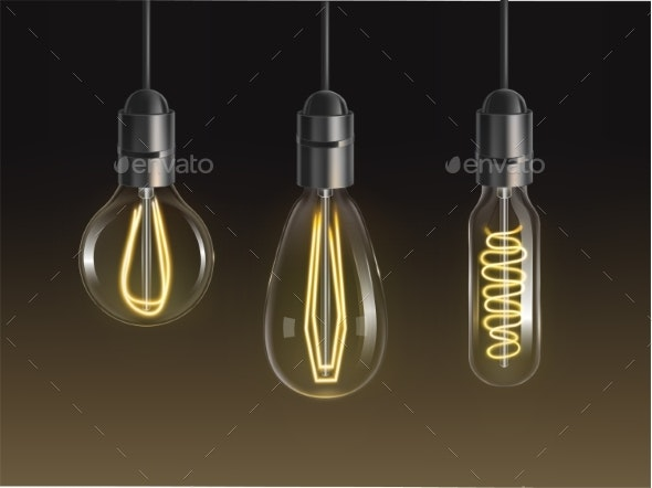 Filament Bulbs Set - Retro Technology