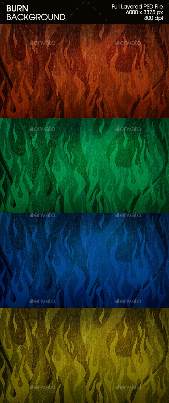 Cool Burn Background - Abstract Backgrounds