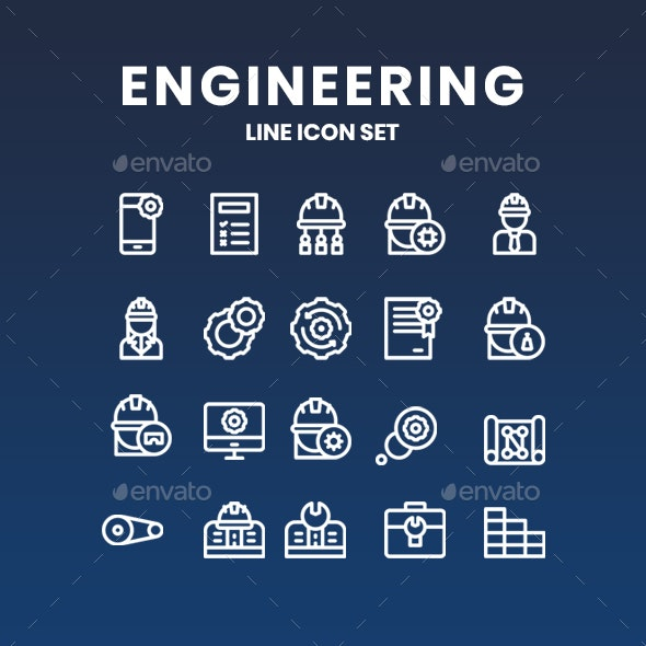 Engineering Icons - Miscellaneous Icons
