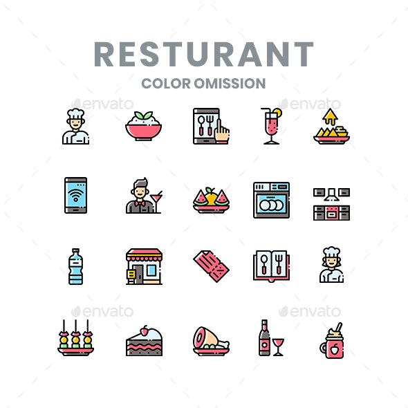 Resturant Icons - Miscellaneous Icons