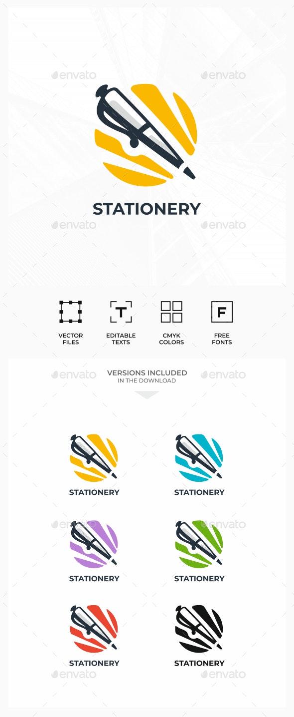 Pen - Objects Logo Templates