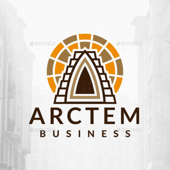 Ancient Architecture Logo