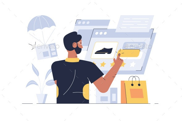 Online Shopping Application - Web Technology