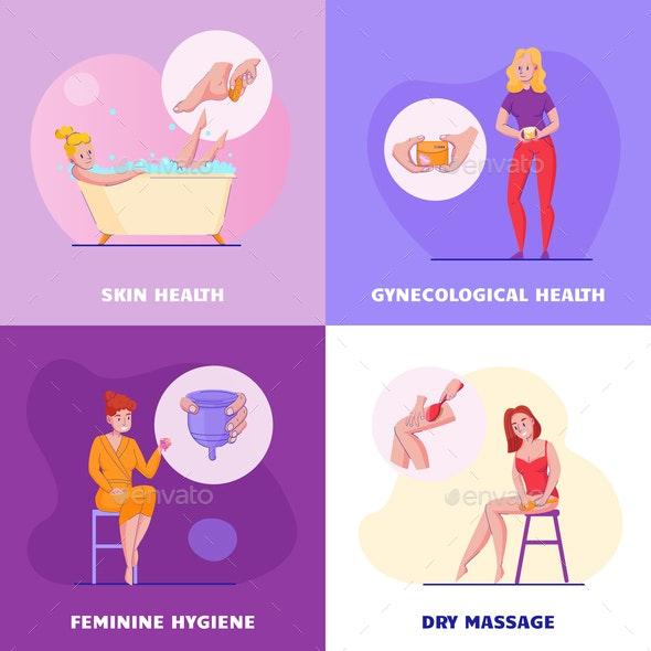 Feminine Hygiene Concept Design - Health/Medicine Conceptual