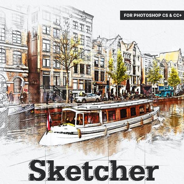 Sketcher Photoshop Action