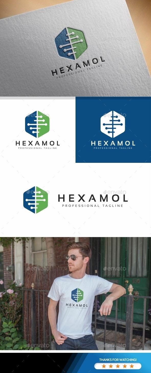 Hexagon Logo - Crests Logo Templates