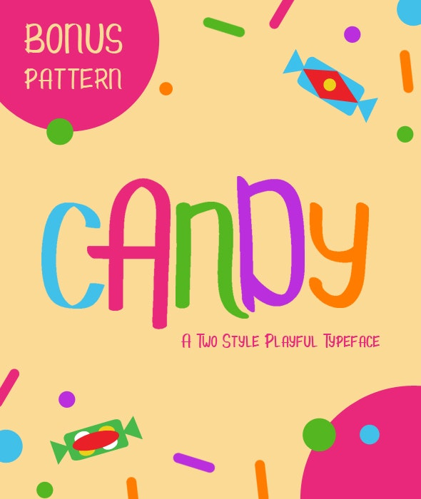Candy - Comic Decorative