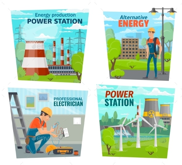 Electrician Profession Power Generation Industry - Industries Business