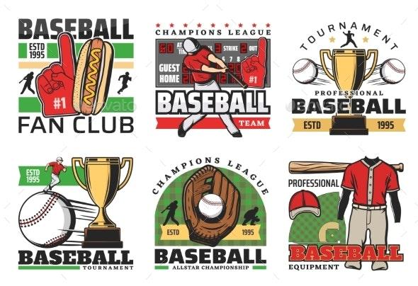 Baseball Sport Club Tournament - Sports/Activity Conceptual