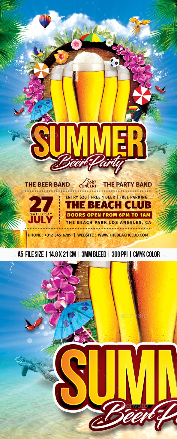 Summer Beer Party - Clubs & Parties Events