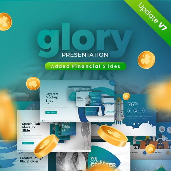 Glory Presentation - Business Pack Powerpoint Template