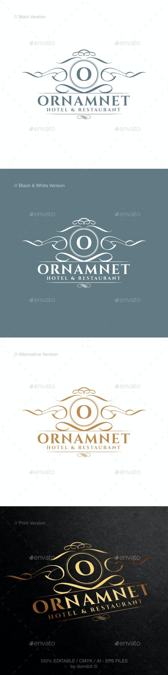 Ornament & Luxury Logo - Crests Logo Templates