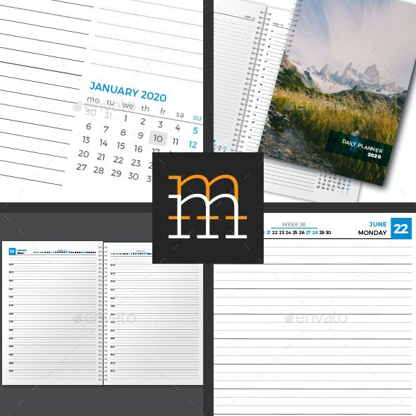 Daily Planner 2020