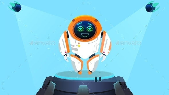 Robot Next Generation Illustration - Computers Technology