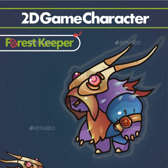 2D Character - Forest Keeper