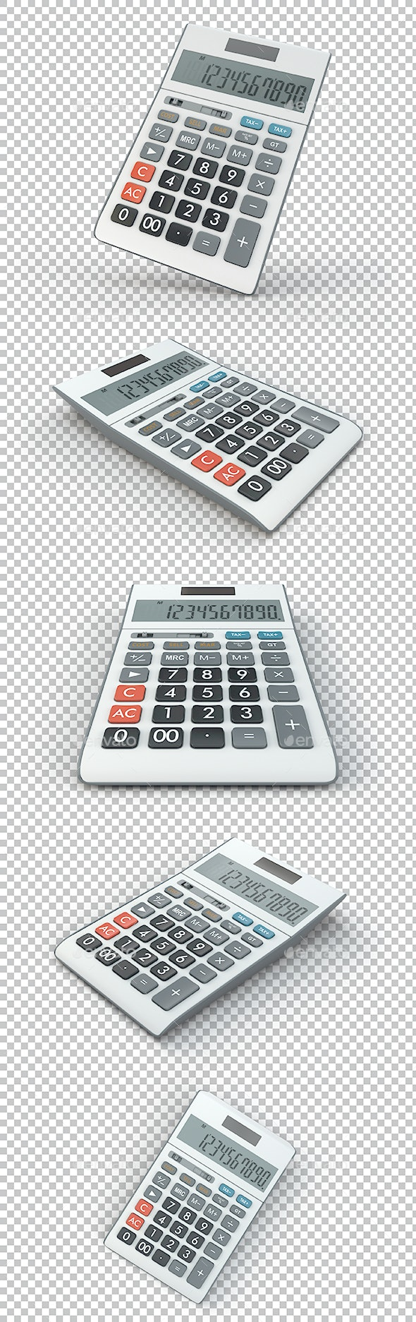 Calculator - Objects 3D Renders