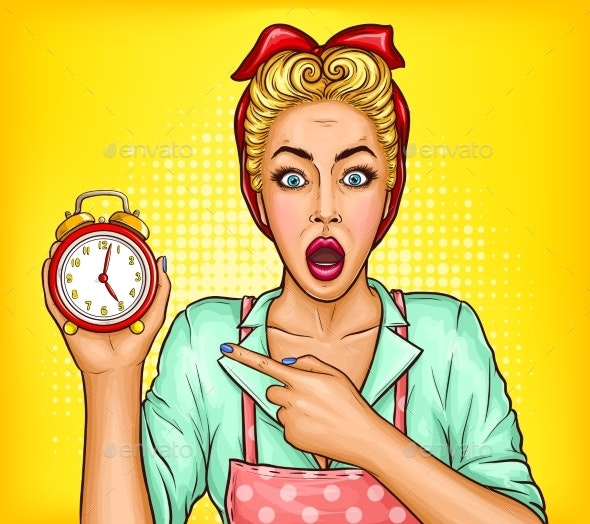 Lack of Time on Housework Vector Concept - People Characters