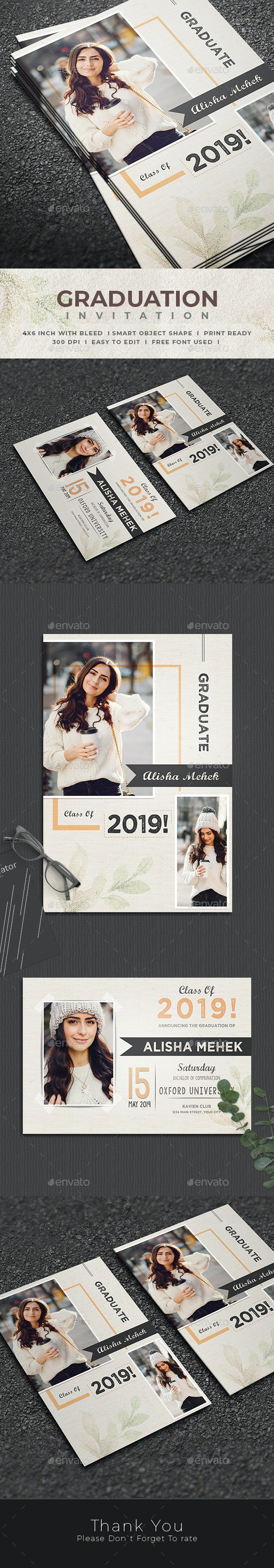 Graduation Invitation - Invitations Cards & Invites