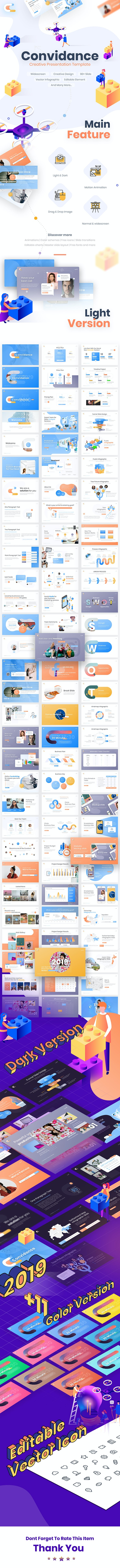 Convidance Creative PowerPoint Template - PowerPoint Templates Presentation Templates