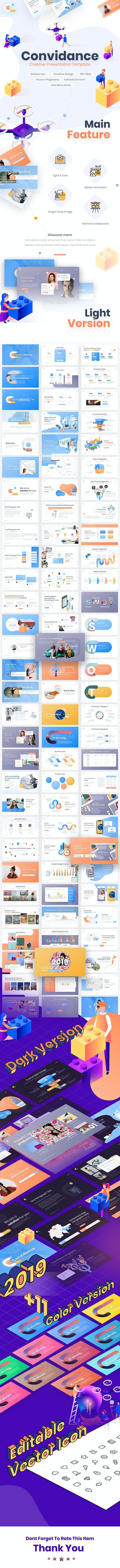 Convidance Creative PowerPoint Template - PowerPoint Templates Presentation Templates