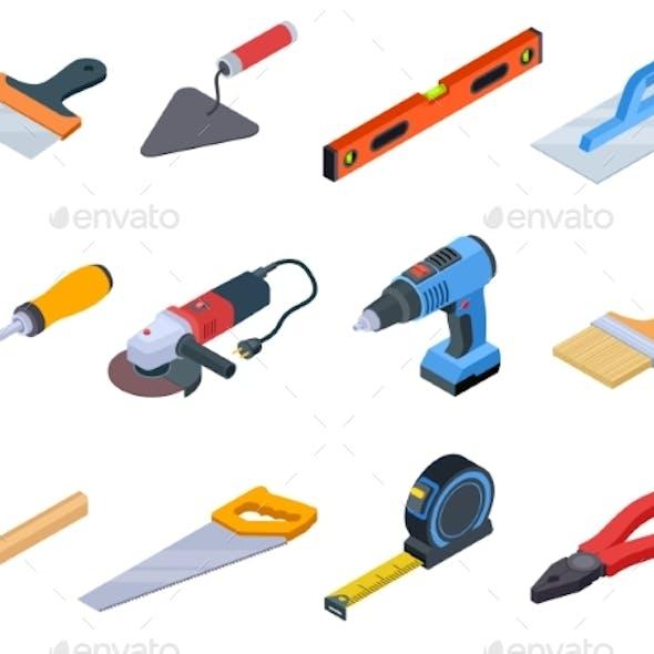 Isometric Repair Tools