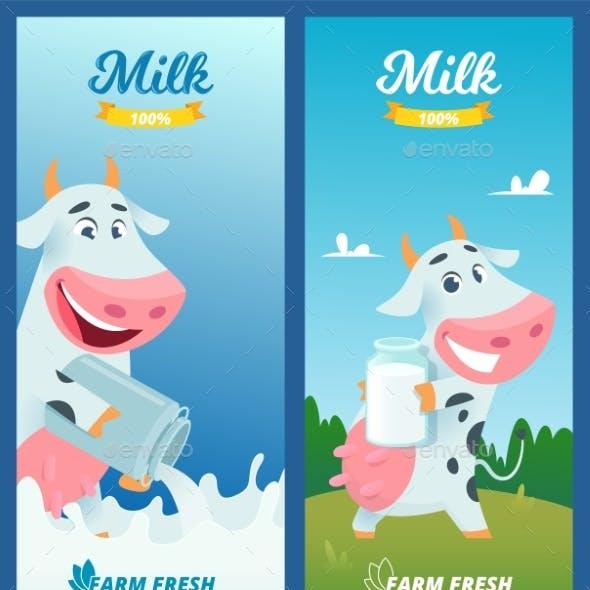 Milk Banners