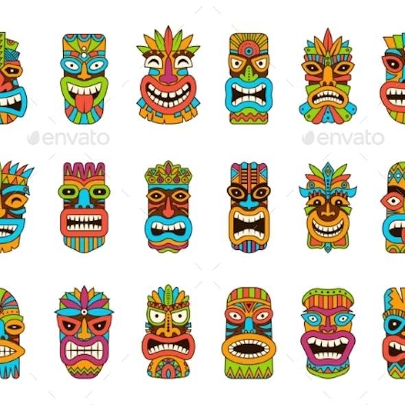 Tiki Masks
