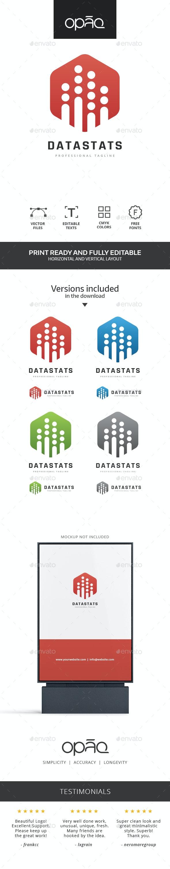 Data Statistics Logo - Symbols Logo Templates