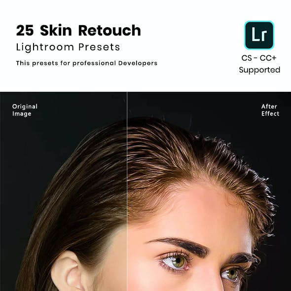 25 Skin Retouch  Lightroom Presets