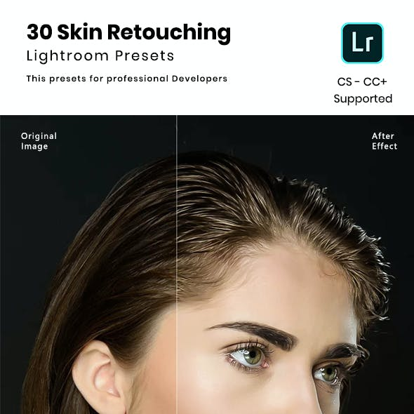 30 Skin Retouching Lightroom Presets